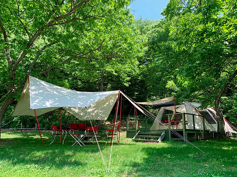 キャンプはもちろん、野外研修やキャンピングオフィス、社員研修旅行などにも使われる