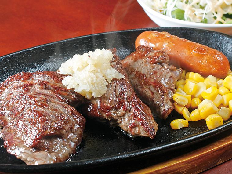 「肉肉肉ラリー」では、ランチで肉料理が楽しめる対象店が30店舗