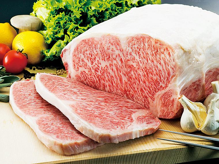 サシが細かく、赤身が鮮やかなピンク色の肉が鮮度の良い証