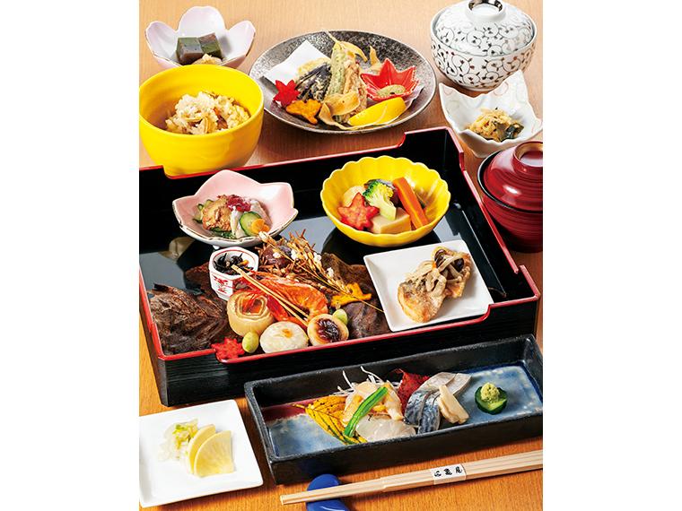『久之浜亀屋』(いわき市)の「月替わりのお弁当」