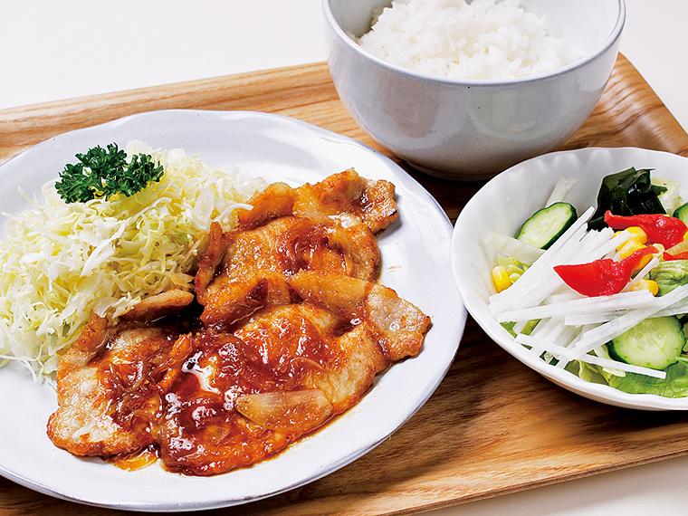 「生姜焼肉」(700円)