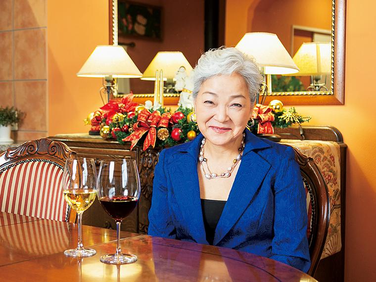 「ワインを毎日食卓に取り入れて」とワインコンシェルジェやソムリエインストラクターの資格を持つテキシドアさん