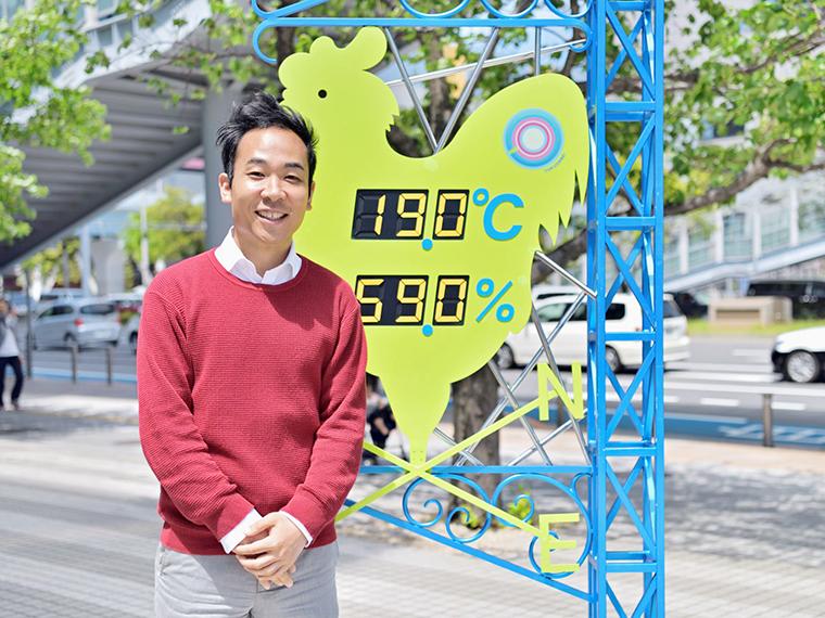 気象予報士・天達武史さん