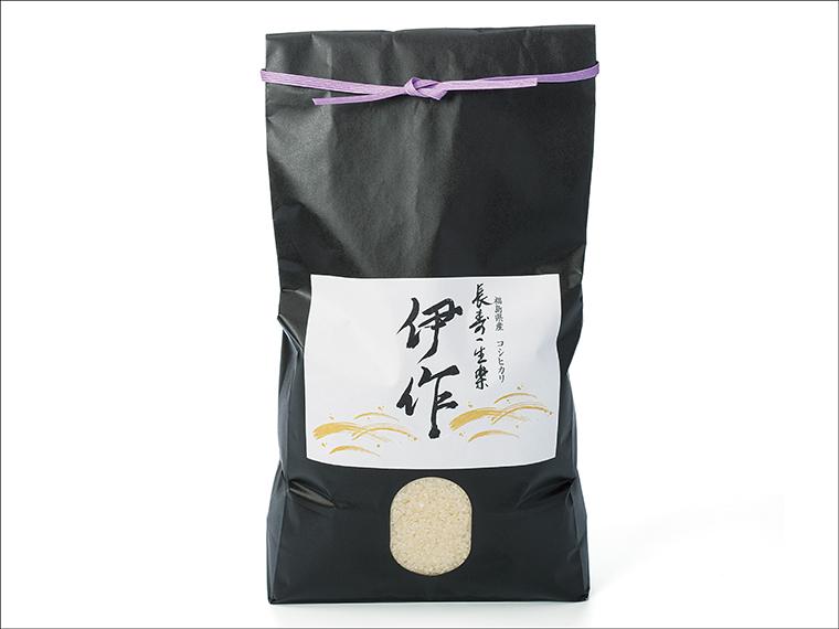 福島県産コシヒカリ「伊作米」(5kg)【1名様】