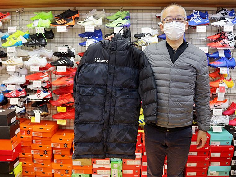 「感染症に気を付けてサッカーライフを!」と浅野さん
