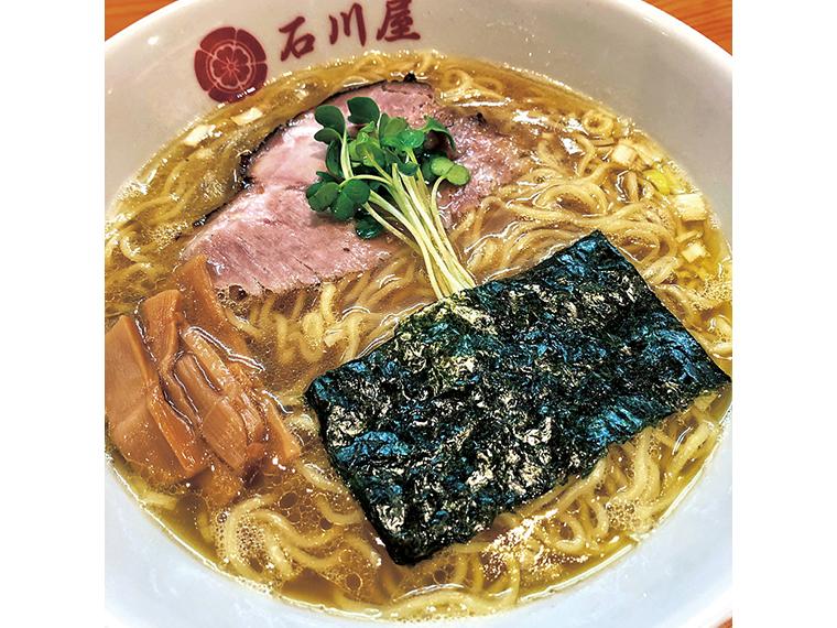 「豚骨醤油」(860円)。麺は自家製麺を使用