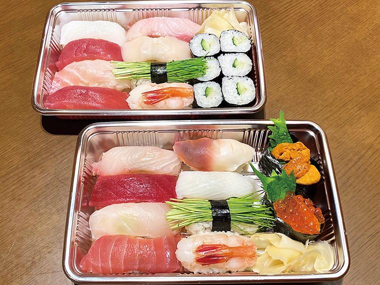 【旬香酒稲 辰巳】寿司