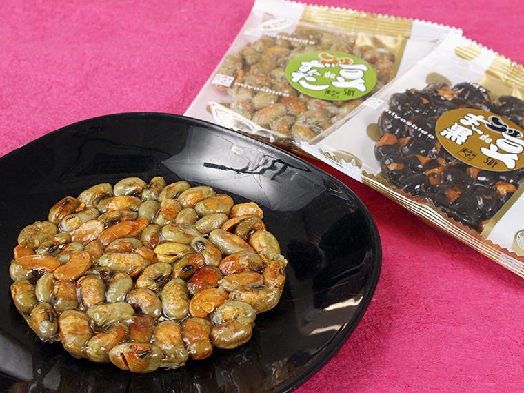 「豆deずんだ 」、「豆deまっ黒」(各129円 )