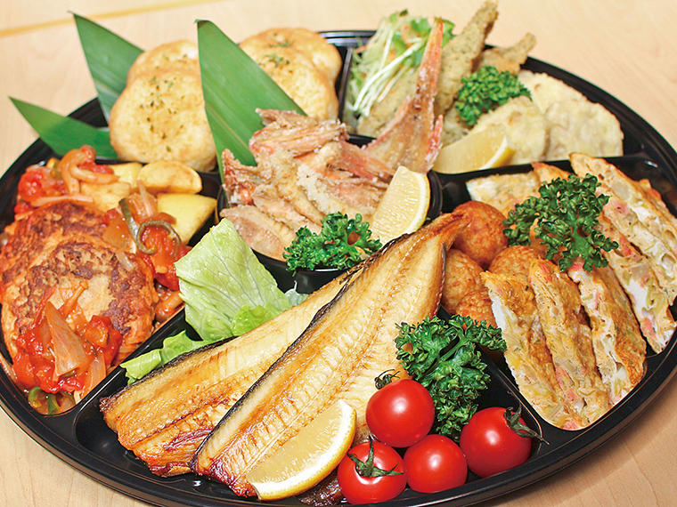【楽酒楽菜 あしび】弁当、おかずなど