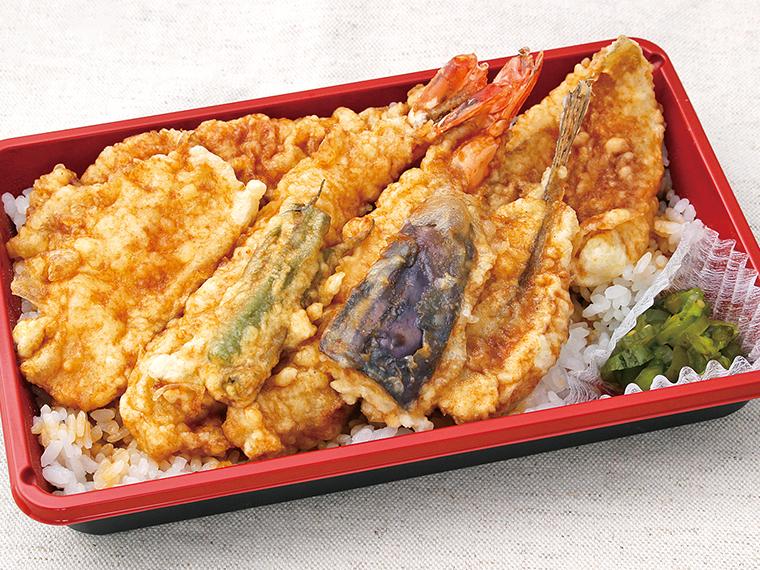 【天ぷら・和食処 谷津家】天丼、天ぷらなど
