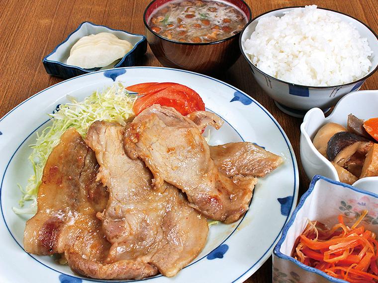 「焼き肉定食」(950円)