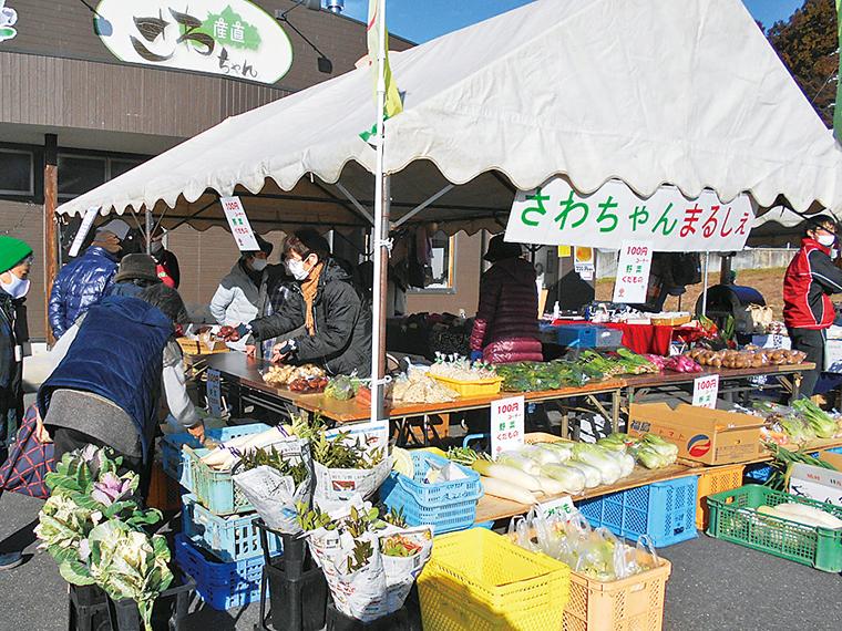 安くて新鮮!野菜の100円コーナー