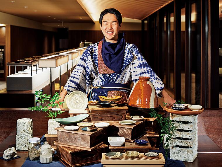 「界 鬼怒川」で開催している「益子焼ナイトと豆皿ギャラリー」。ほかにも、各施設ごとにさまざまなイベントや企画を実施している