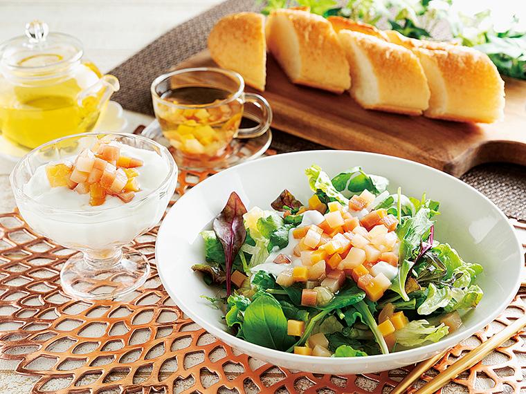 スイーツ感覚でおいしく食べられるこんにゃく商品。サラダやヨーグルトのトッピングや、シリアルと一緒に食べるのがおすすめ