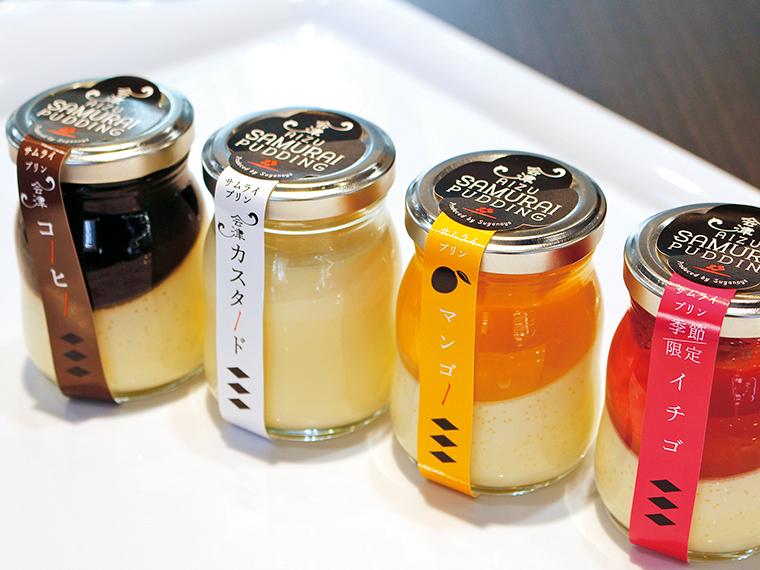 定番はコーヒーの他、カスタード、マンゴー、イチゴの4種類。初夏にはメロンが登場予定