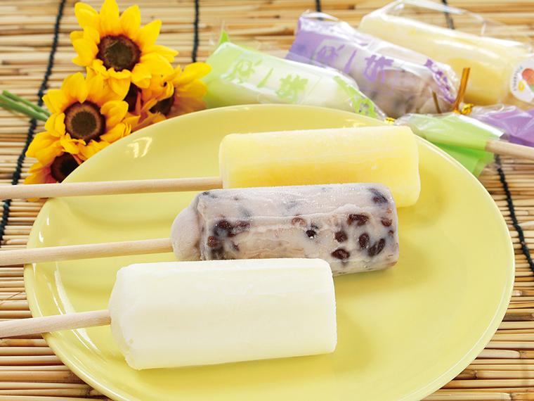 「アイスキャンディー」(1本・151円)。オリジナルの配合で作る、 昔ながらの味