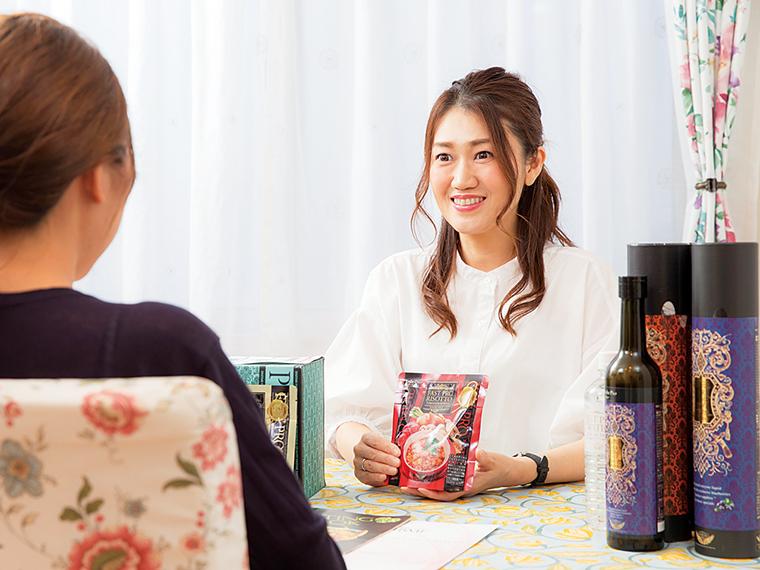 「ミセスグローバルアースジャパン」宮城大会ファイナリストでもあるオーナーの菅野さん