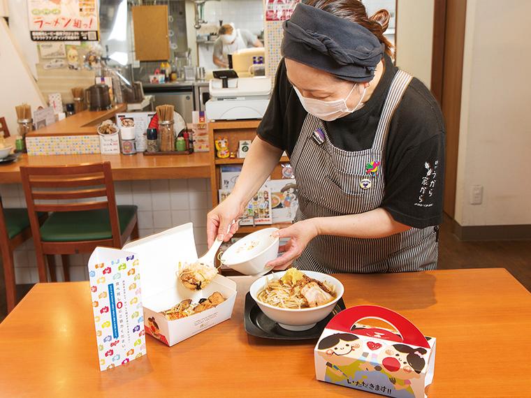 ラーメンと一緒に注文されることも多い「ちゃーしゅー飯」(430円)。「小さいちゃーしゅー飯」は280円