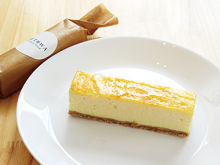 『RETOWA』チーズケーキバー5本セット無料引換券【3名様】