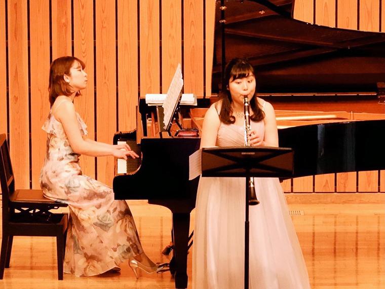 福島ゆかりのピアニストとクラリネット奏者によるデュオコンサート