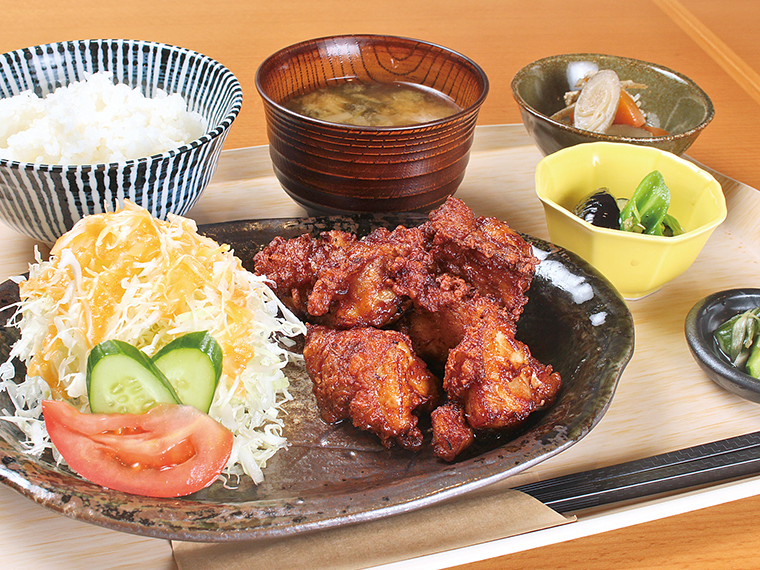 【福島市・おかあさん食堂】CJ Monmoパスクーポン提示で食事の方、50円引きに!