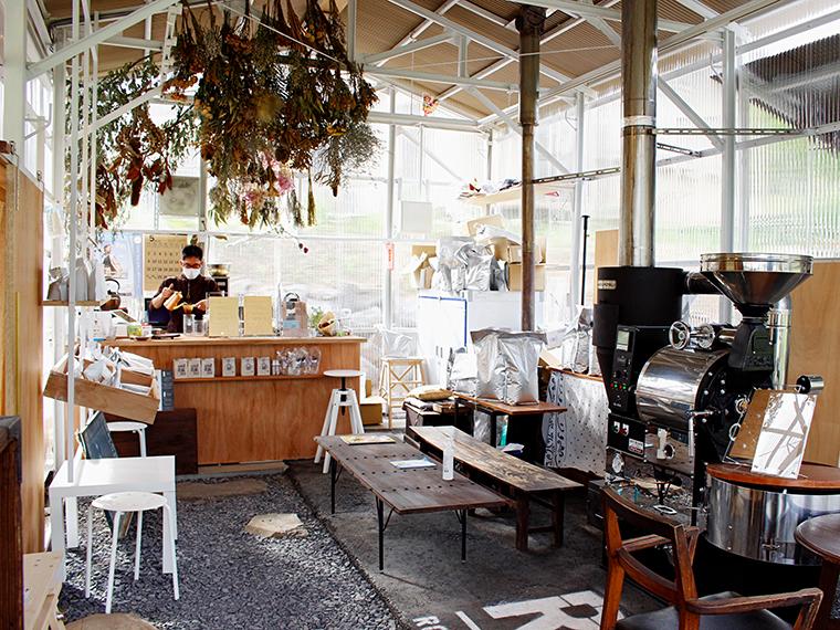 InstagramでのLive配信や、ハッシュタグキャンペーンも行う。写真は、福島市の「SEKIYA COFFEE&GOOD TIMES」
