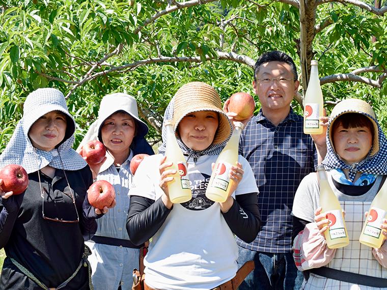 (9)【斎藤果樹園】りんごはな蜜(贈答用)とりんごのセット…1名様