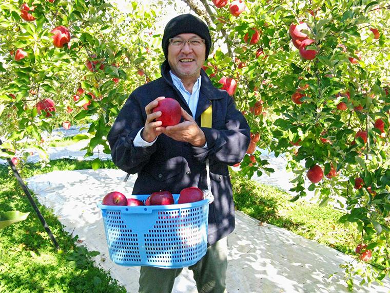 (4)【フルーツファームカトウ】吟壌ふじ&りんごジュースセット…1名様