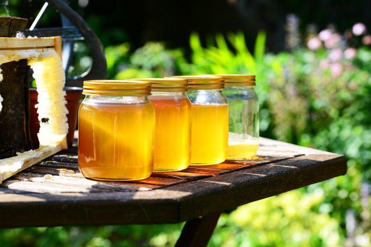 【cafe SCC】商品購入の方、ハチミツのミニボトルプレゼント
